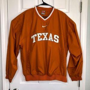 Texas Longhorns Pullover Windbreaker w/ Spell Out